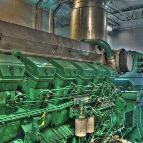 Modification of the bow thruster's generator set automation system