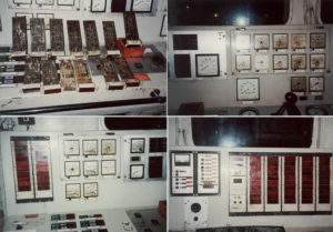 flooded control room