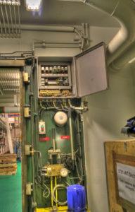 automatyka systemu grodzi wodoszczelnych
