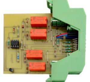 Przejściówka, opracowana przez firmę MAREL, umożliwiająca wykorzystanie w układzie przetworników ciśnienia